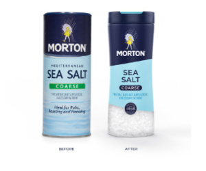 New Look and A Dash for AR for Morton Salt Branding