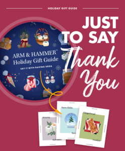 Arm & Hammer Promotes DIY Gifts for the Holidays