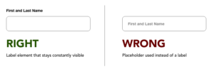 Form Follows Function: How to Properly Label Online Form Fields