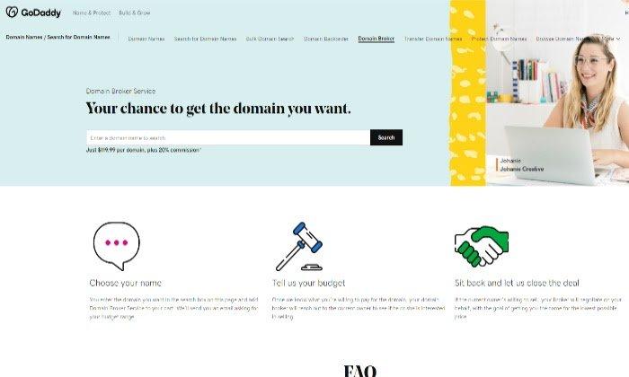Best Domain Brokers