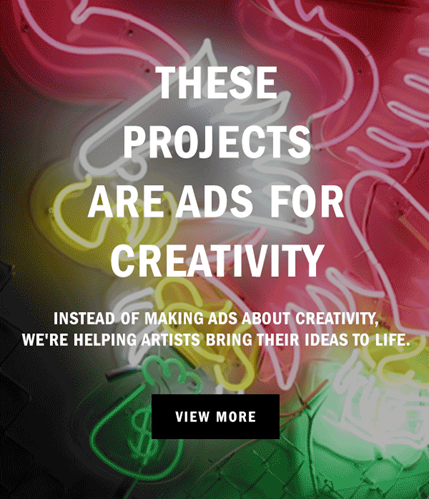 Vans Offers Ads for Creativity