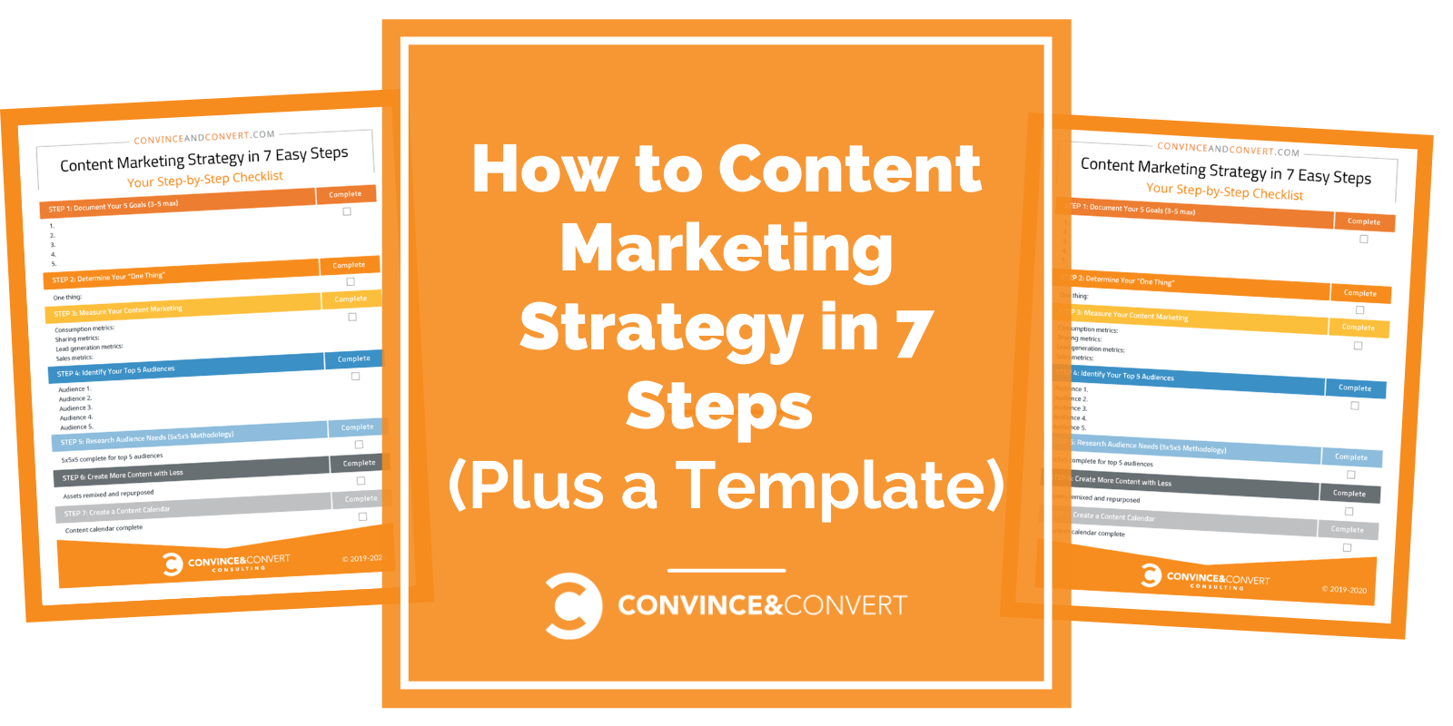 How to Create a Content Marketing Strategy in 7 Easy Steps