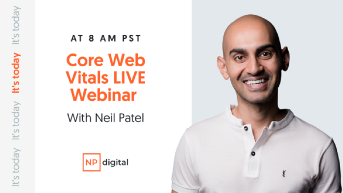 How to Adapt Your SEO to Google's Core Web Vitals and Core Update [FREE WEBINAR TODAY]