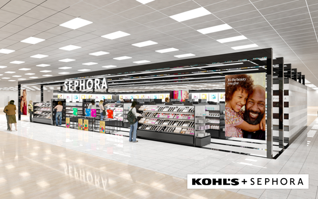 Sephora, at Kohl's Near You. And Then Some