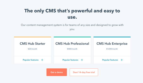 Meet CMS Hub Starter, The Newest Tier in the CMS Hub Suite