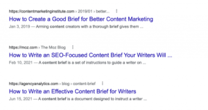 How to Create a Content Brief and Best Practices (With Free Template!)